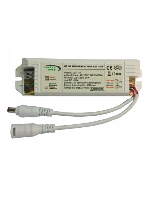 KIT EMERGENCIA PARA LED 20-70V 30W
