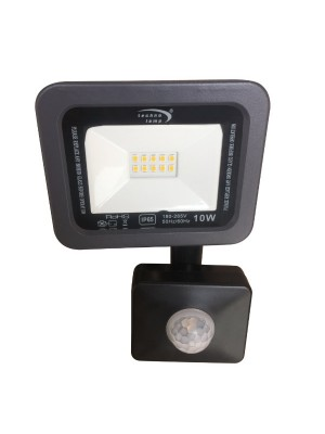 PROYECTOR DE AREA LED 10W SENSOR 3000K 1000LM IP65 IK10 SLIM DL